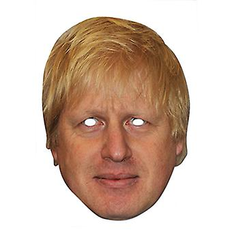 Boris Johnson Celebrity London Mayor Card Party Fancy Dress Mask
