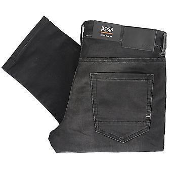 Hugo Boss Charlestone BC offentlig ekstra slim fit falmet svart jeans