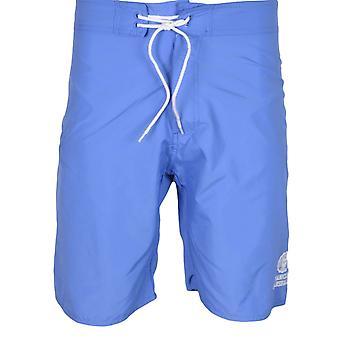 Franklin & Marshall Ua950 Beachwear Unisex Atlantic Blue Swim Shorts