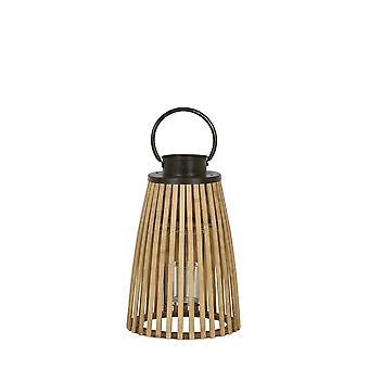 Light & Living Lantern 21x42cm Pavia Bamboo And Zinc