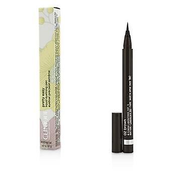 Clinique Pretty Easy Liquid Eyelining Pen - #02 braun 0,67g/0,02 Unzen
