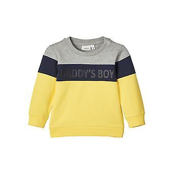 Name-it Jongens Sweater Defino Grey Melange