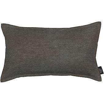 Mcalister textiles simple chenille charcoal almohada gris