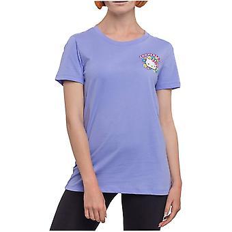 Converse X Hello Kitty Floral Face 10017643A01 t-shirt universel pour femmes d'été