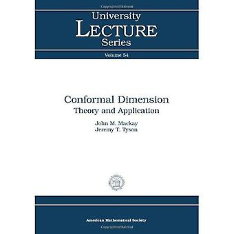 Conformal Dimension: Theory and Application