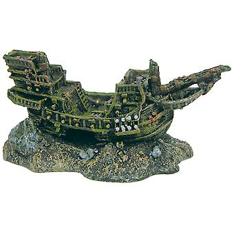 Ica Big Boat (Fish , Decoration , Rocks & Caves)