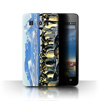 STUFF4 Caso/Cubierta para Huawei G520/Emperor Penguins/Arctic Animals