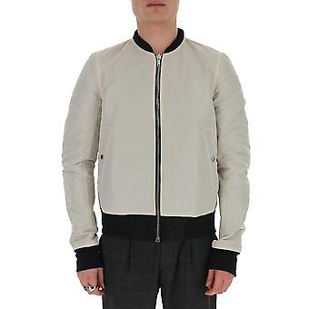 Rick Owens Ru20s7786frt0954 Men's Grey Cotton Outerwear Jacket