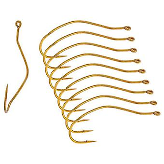 Mustad UltraPoint Slow Death Gold Fishing Hooks (10 Ct)