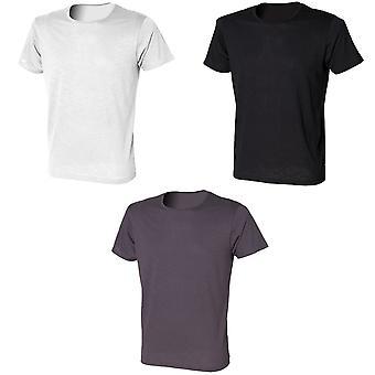 Skinni Fit Mens Slub T-Shirt