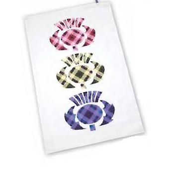 Scotland Thistle Tea Towel