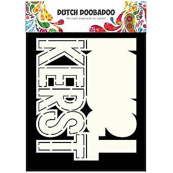 Hollanti Doobadoo Hollanti Kortti Taide teksti kerst (NL) A5 470.713.638