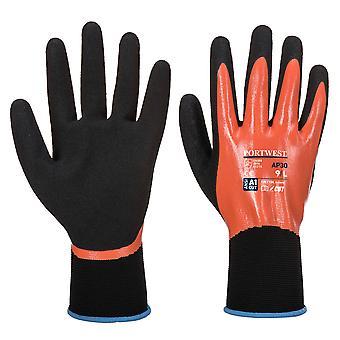 Portwest Mens Liquid Resist Dermi Pro Gloves