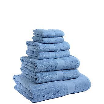 Christy Christy Towel Bale Riolto Luxury 550g Peso Algodão Macio 6pc 2 Banho, Folha de Banho e Mão