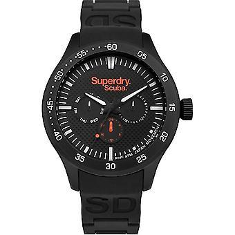 Superdry Quartz Watch with Silver SYG210BB