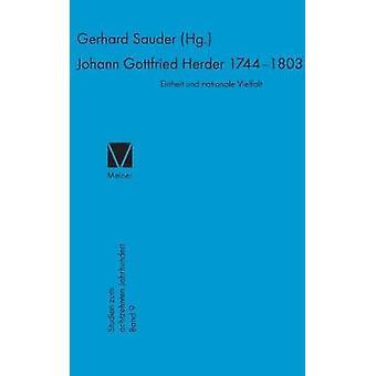 Johann Gottfried Herder 17441803 by Sauder & Gerhard