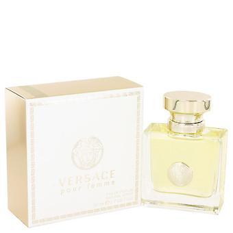 Versace assinatura eau de parfum spray por versace 454428 50 ml