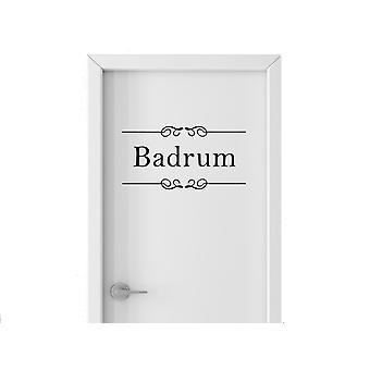 Wall décor | Bathroom sign | Bathroom | 27 x 14 cm
