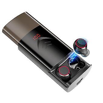 T9 tws wireless bluetooth 5.0 auricolare binaural chiamare stereo hi-fi auricolari impermeabile con custodia di ricarica 6000mah