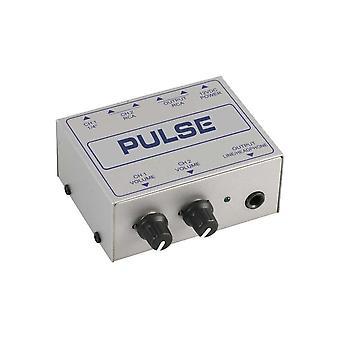 Mezclador de línea Pulse Linemix2s Compact de 2 canales