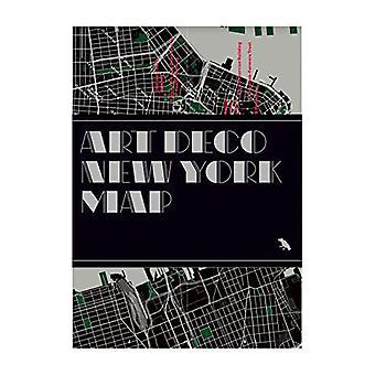 Art Deco New York Map by Henrietta Billings - 9781912018628 Book