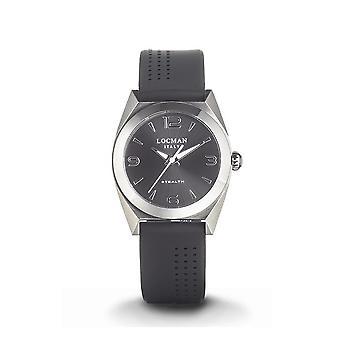 LOCMAN - Wristwatch - Ladies - 0804A01A-00BKNKSK - STEALTH LADY ONLY TIME QUARTZ