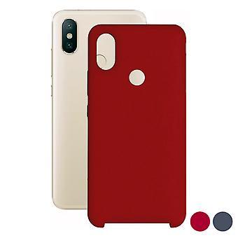 Mobile cover Xiaomi Mi A2 Contact TPU/Red