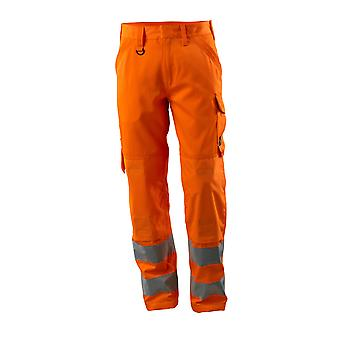 Mascot geraldton hi-vis trousers 16879-860 - safe light, mens