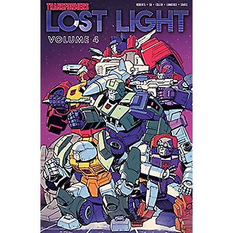 Transformers Lost Light - Vol. 4 by James Roberts - 9781684054107 Book