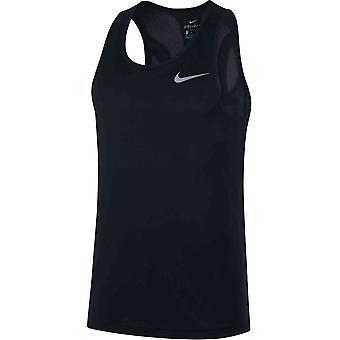 Nike Top Run AQ4939010 draait het hele jaar door mannen t-shirt