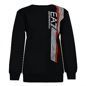 EA7 Boys EA7 Boy's EA7 Black Sweatshirt
