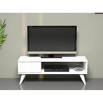 Mobile Porta TV Maya Color Bianco in Truciolare Melaminico, PVC 90x30x33 cm