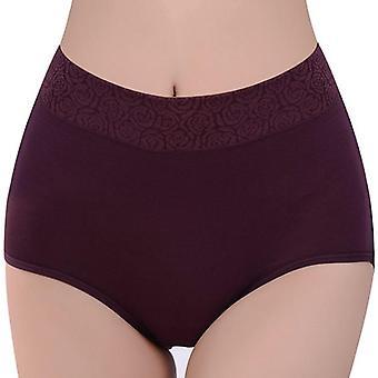 Ženy plné barvy vysoký pas stopy méně květinové kalhotky