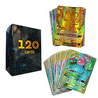 Battle Game Card Gx Ex Collection - Trading Pokemon Cards - 120gx(60gx 60mega)
