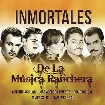 Inmortales De La Musica Ranchera [CD] USA import
