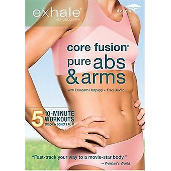 Uitademen - Fusion Core: Pure Abs & armen [DVD] USA import