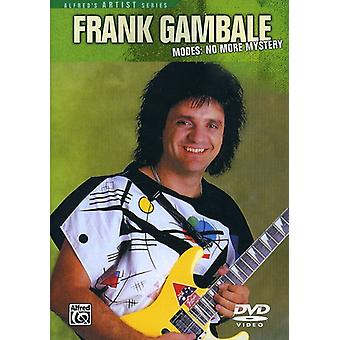 Frank Gambale - Modes No Moremystery [DVD] USA import