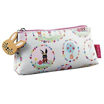 Girls pastel colours bunny pencil case