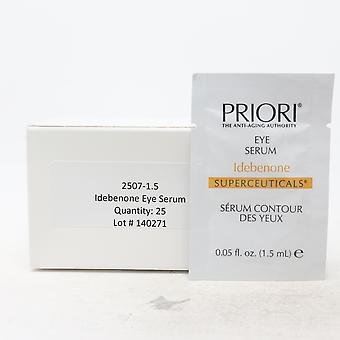 Priori Idebenone Eye Serum Pack Of 25  / New