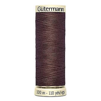 Gutermann Ommella kaikki 100 % Polyesteri Thread 100m käsi ja kone värikoodi - 446