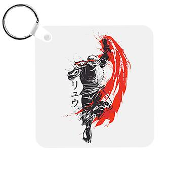 Traditional Fighter Ryu Street Fighter Keyring