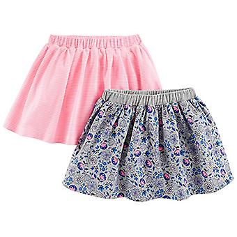 Simple Joys by Carter's Baby Girls' Toddler 2-Pack Knit Scooters (Skirt with ...