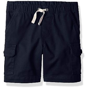 Essentials Big Boys' Cargo Short, Navy Blazer, XL (12)