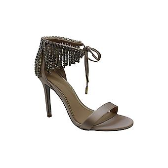BADGLEY MISCHKA Womens Darielle Open Toe Ankle Strap Classic Pumps