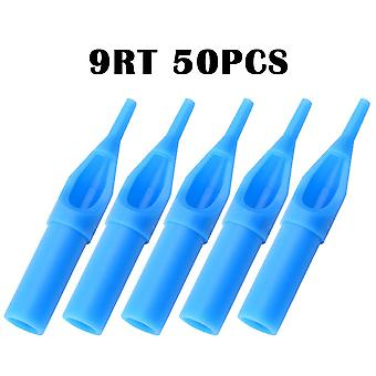 Tattoo Tips Sterile Disposable Tattoo Gun Needle Ink Cup - Grip Kit Sterilized Nozzle Tattoo Needles Tube