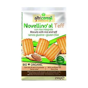 Rice and Teff Bio Biscotti 250 g