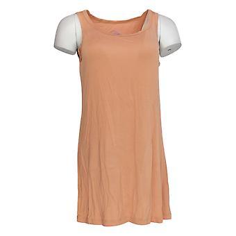 LOGO Layers par Lori Goldstein Women-apos;s Top Straight Hem Tank Pink A303882