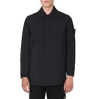 Stone Island 731541727v0029 Men's Black Polyester Outerwear Jacket