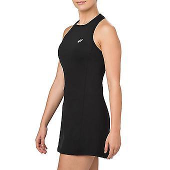 Asics Dámské Performance Bez rukávů Sportovní tréninkové šortky Tenisové šaty - Černá