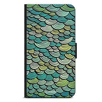 ביורי מקרה ארנק LG G5 - סולם בתולת ים ירוקה